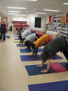 Teen Yoga.  Summer Reading Program 2011.