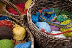 Natural Dyes Used by The Vikings Result in Vibrant Colors.   Clothing of the past was not drab.