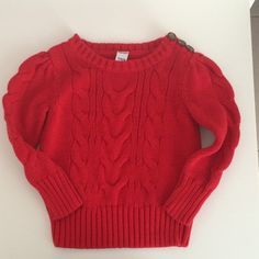 Look what I found while shopping on Totspot, the resale shopping app for kids' clothes.   Red Sweater   Old Navy  Love this! #kidsfashion