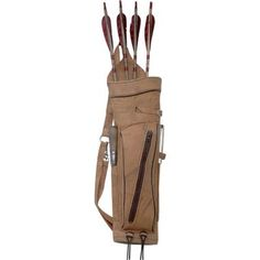 Camo Leather Back Quiver at Cabela's