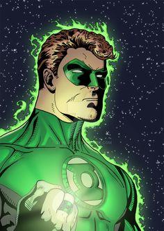 Green Lantern Hal Jordan by zarejpv