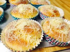 Ensaymada(eds) Ensaymada, Muffin, Cooking Recipes, Breakfast, Food, Morning Coffee, Chef Recipes, Essen, Muffins