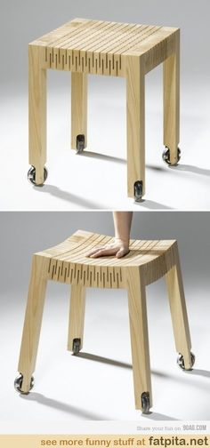 Wood Furniture Design - Excellent DIY Wooden Furniture - Great Woodworking Tips Design Wood, Deco Design, Wood Chair Design, Unique Furniture, Home Furniture, Furniture Design, Luxury Furniture, Primitive Furniture, Furniture Movers