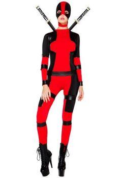 Sexy Deadpool Costume
