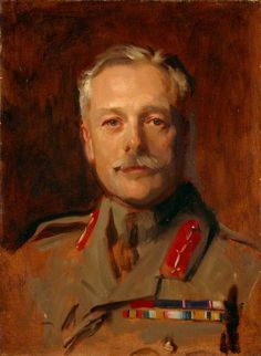 Douglas Haig (1861–1928), 1st Earl Haig, Soldier (study for a portrait in 'General Officers of World War I') John Singer Sargent (1856–1925) National Galleries of Scotland, Scottish National Portrait Gallery