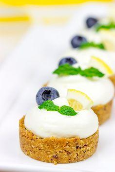 Lemon Blueberry Almond Bites