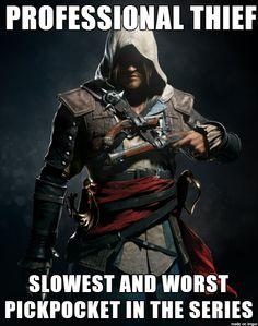 #AssassinsCreed Fun