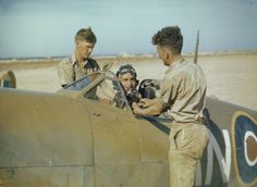 The RCAF in North Africa,  May 1943. Pin by Paolo Marzioli