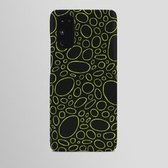 Organic - Lime Green Android Case by laec | Society6