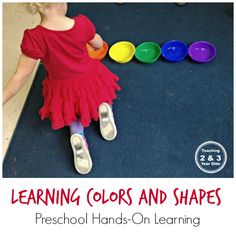 A fun, hands-on way to work on color and shape recognition during circle time.