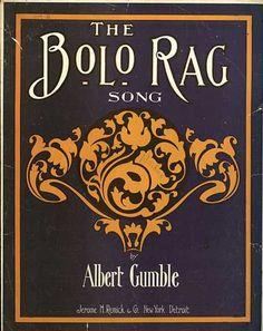 Sheet Music - The bolo rag