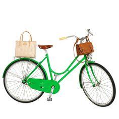 Kate Spade's new biking accessories rear bag is the BAY STREET BIKE QUINN $375.00 http://www.katespade.com