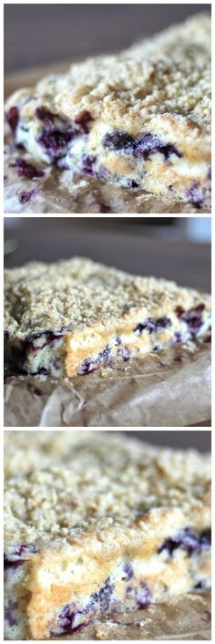 Moist and buttery fresh blueberry crumble cake. The perfect bake this summer! Great bake ahead recipe too.
