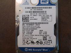 Western Digital WD1600BEVT-75ZCT2 DCM:FHNVJABB 160gb Sata - Effective Electronics #datarecovery #harddriverepair #computerrepair #harddrives #harddriveparts #westerndigital