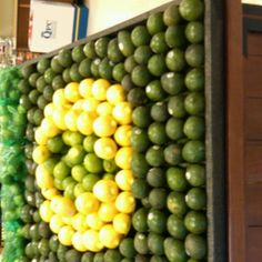 Oregon ducks!  Not sure my Harris Teeter will let me do this, but it might be my craft project for next week.