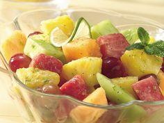 Honey-Lime Fruit Salad (Crowd Size) @Karen Dunger for the shower?