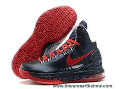 Cheap Nike Zoom KD V Dark Blue Red