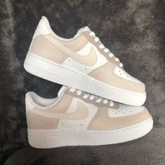 Nike Shoes   Brown Color Block Air Force Ones   Poshmark Dr Shoes, Cute Nike Shoes, Swag Shoes, Cute Sneakers, Nike Air Shoes, Hype Shoes, Brown Nike Shoes, Nike Custom Shoes, Air Force One Shoes