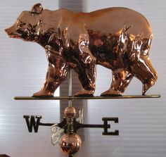 bear weather vane