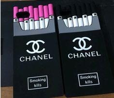 c23dfd317b5 Fashion cigarette chanel iphone case iphone 5 5S chanel iphone 6 plus case  cover