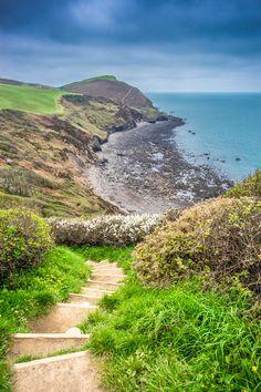 High cliffs, Crackington Haven, Cornwall, United Kingdom by Giuseppe Milo