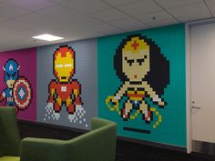Awesome Office Mural Made With 8024 PostIts  Page 2 of 2  Best of Web Shrine