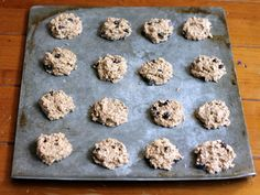 2-Ingredient Healthy Banana Bread Breakfast Cookies {with delicious add-ins!}