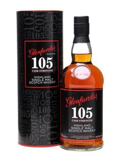 Glenfarclas 105 Highland Single Malt Scotch Whisky. If you're a fan of whisky this should be on your radar!