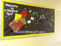 second grade welcome back to school bulletin board ideas   Easy But Cute Back to School Bulletin Board
