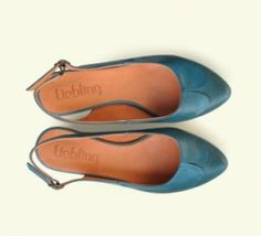 blue shoes from Liebling