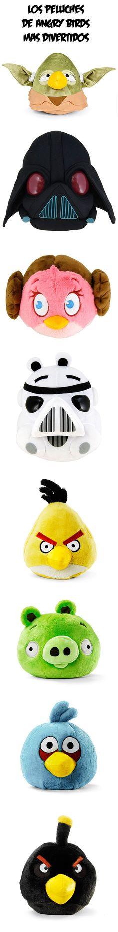 Los peluches de Angry Birds más divertidos.