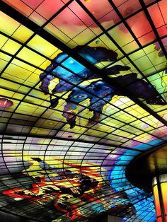 """Dome of light"" - Farmosa Boulevard Station, Kaohsiung Taipei"