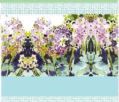 cestlaviv_hyacinth CUT and SEW YARD fabric by cest_la_viv on Spoonflower - custom fabric