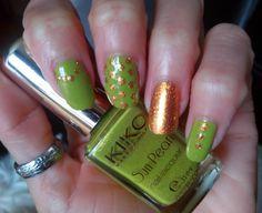 Verde manzana y oro