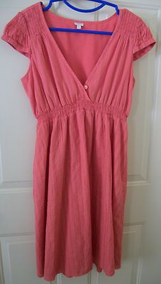 $24.99 or best offer Fossil Coral Summer Sun Dress size M