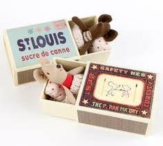 mice in matchbox