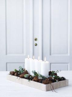 Simple, yet beautiful Christmas decorating ideas (my scandinavian home)