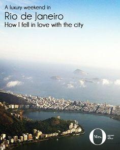 The stunning Rodrigo de Freitas lagoon, Rio de Janeiro - Rio is sexy, heartbreakingly beautiful, and elegant.