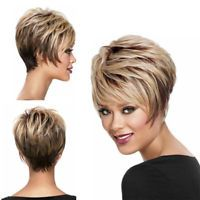 Fashion Women Short Straight Hair Wigs Cosplay Party Bob Hair Wig Heat Resistant for sale online Short Stacked Hair, Short Straight Hair, Short Hair Cuts, Short Hair Styles, Stacked Bobs, Stacked Bob Hairstyles, Short Hairstyles For Women, Wig Hairstyles, Straight Hairstyles