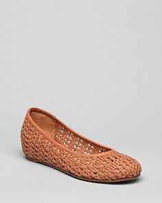 Eileen Fisher Ballet Flats - Sew Woven | Bloomingdale's
