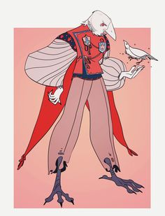 (3) Twitter Fantasy Character Design, Character Design Inspiration, Character Concept, Character Art, Concept Art, Bird People, Dnd Characters, Character Design References, Creature Design