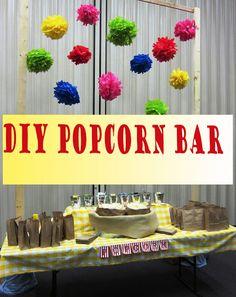 Popcorn Bar Tutorial