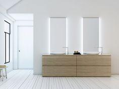 Las 89 mejores imágenes de Espejos cuarto de baño | Bathroom mirrors ...