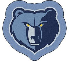 NBA - Memphis Grizzlies Mascot Mat Size: x Looking for a unique rug to decorate your home or office with? Mascot Mats by Sports Licensing Solutions ar Chino Hills Basketball, Basketball Equipment, Logo Basketball, Basketball Skills, Basketball Jersey, Basketball Hoop, Logo Shapes, Team Mascots, Nba Store