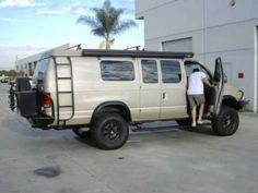Power Running Board for Ford Econoline Vans. - YouTube
