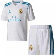 Real Madrid home boys kit teal Real Madrid, Kids C, Short, Pajama Pants, Boys, Swimwear, Shopping, Mini, Officiel