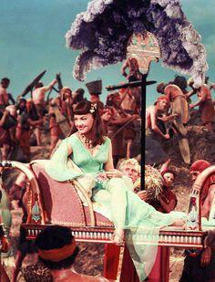"vintagegal: Anne Baxter in ""The Ten Commandments"" 1956 Anne Baxter, Epic Film, Epic Movie, Film Movie, Yul Brynner, Lana Turner, Yvonne De Carlo, Egyptian Fashion, Prince Of Egypt"