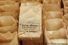 Unique vintage style Soap Packaging by Farm Fresh Soap Packaging, Packaging Ideas, Packaging Design, Product Packaging, Soap Display, Soap Company, Coffee Filters, Lotion Bars, Homemade Beauty Products