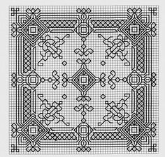 Blackwork pattern from one of the Russian sites.