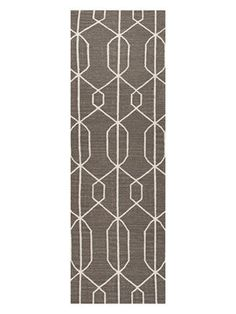 Geometric Flatweave Rug from Rugs for Layering on Gilt